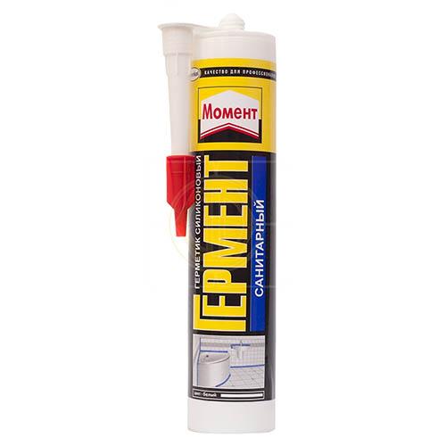 Герметик Момент силиконовый санитарный для ванны и кухни