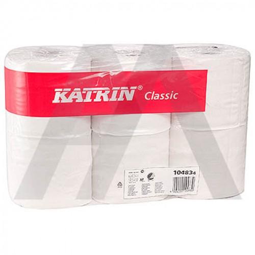 Бумага туал. 2-сл. белая Katrin Classic Toilet