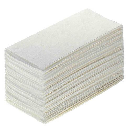 Полотенца лист. V-слож. белые 1-сл. ПРЕМИУМ
