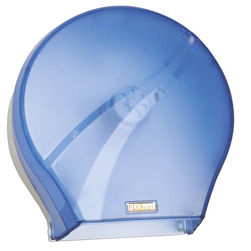 Диспенсер для туал. бумаги (голубой пластик) F165