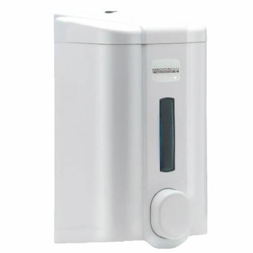 Дозатор для жидкого мыла (белый пластик) 1000 мл