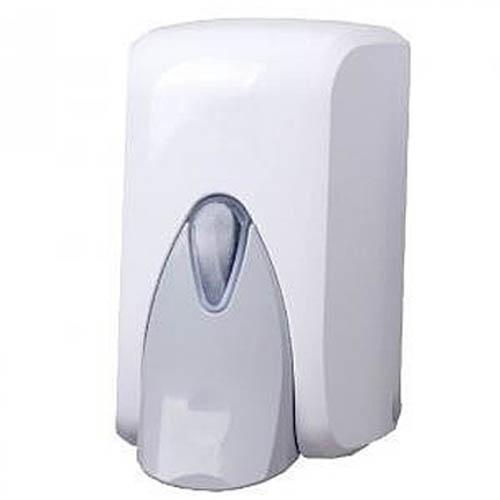 Дозатор для жидкого мыла (белый пластик) 500мл