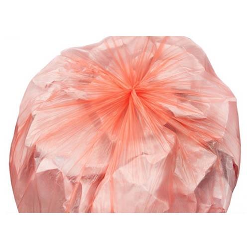 Мешок для мусора 20мкр (120л) оранжевый ПНД