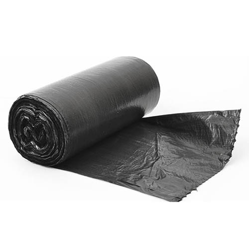Мешок для мусора 70х110 (120л) черный (рулон 10шт) ПНД