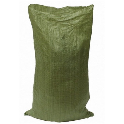 Мешок для мусора полипропиленовый тканный 56х95 зелёный