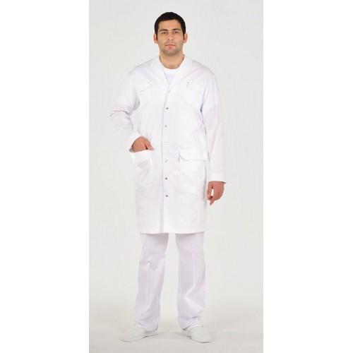 Белый мужской халат