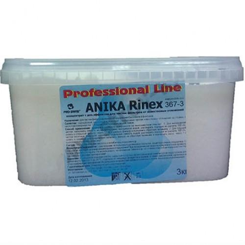 Конц-т с дезинф. эффектом для фильтр. оборудования бассейна ANIKA RINEX 3кг