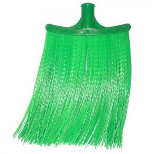 Метла полипропиленовая плоская 150х250мм (зеленая)