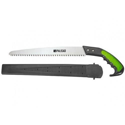Ножовка садовая, 300мм, 2-х компонентная рукоятка+ножны