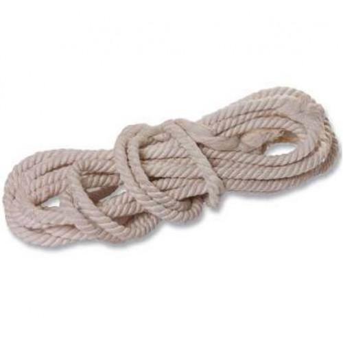 Веревка х/б, ф14 мм, L-11 м, крученая