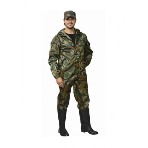 "Костюм ""ТУРИСТ"": куртка, брюки (тк. ""Оксфорд"") КМФ зелёный"