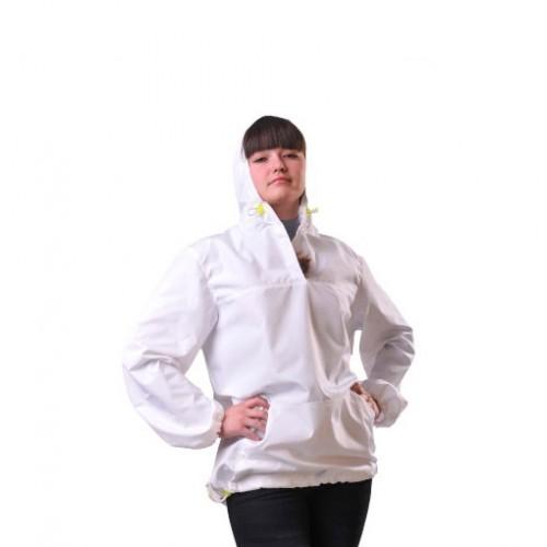 """Куртка """"АНОРАК"""" женская, белая"""