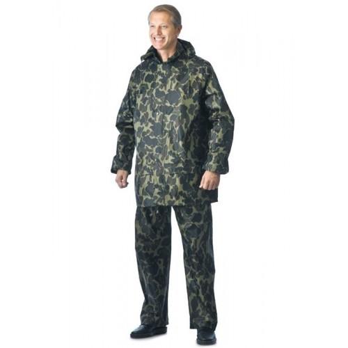 """Костюм """"ЛИВЕНЬ"""" нейлоновый: куртка, брюки КМФ """"Лес"""""""