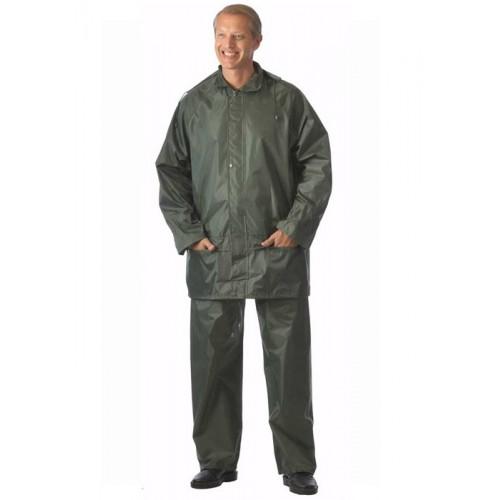 """Костюм """"ЛИВЕНЬ"""" нейлоновый: куртка, брюки зелёный"""