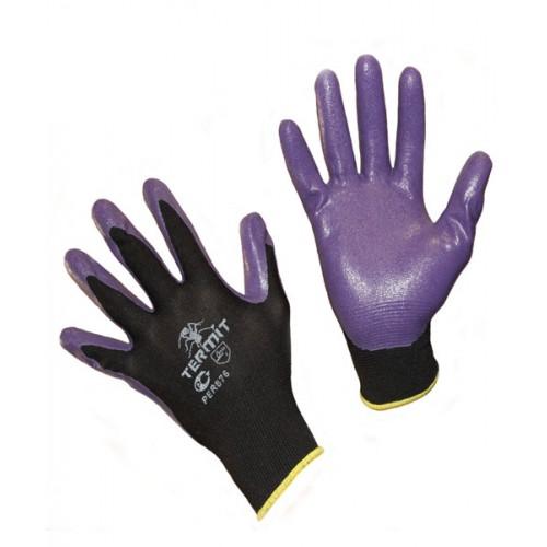 Перчатки нейлоновые со вспененным нитриловым покрытием