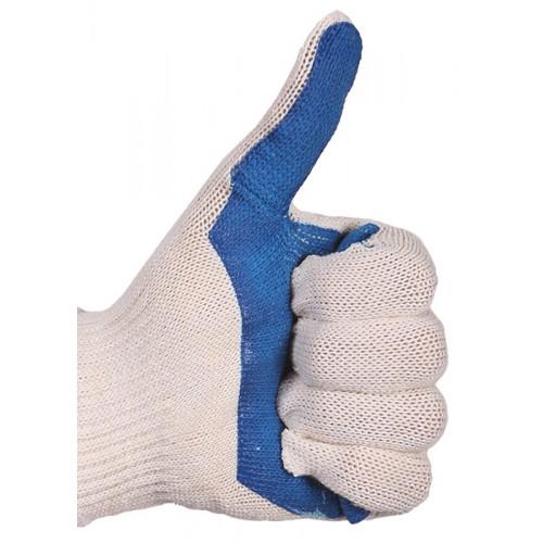 Перчатки трикотажные с ПВХ (накатка)