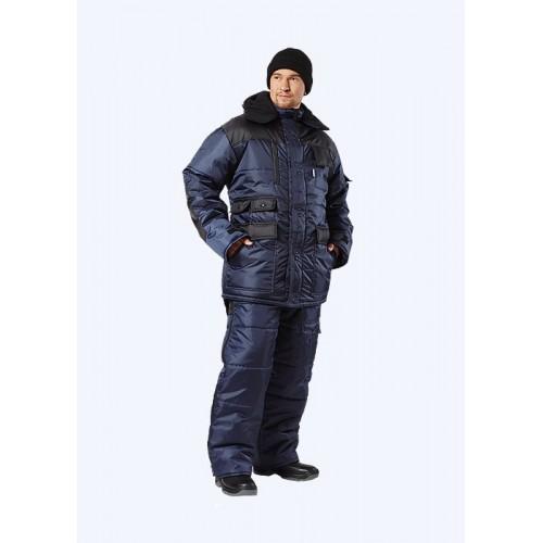 "Костюм ""БЕРКУТ""-ЛЮКС зимний: куртка , п/комб. синий с чёрным"