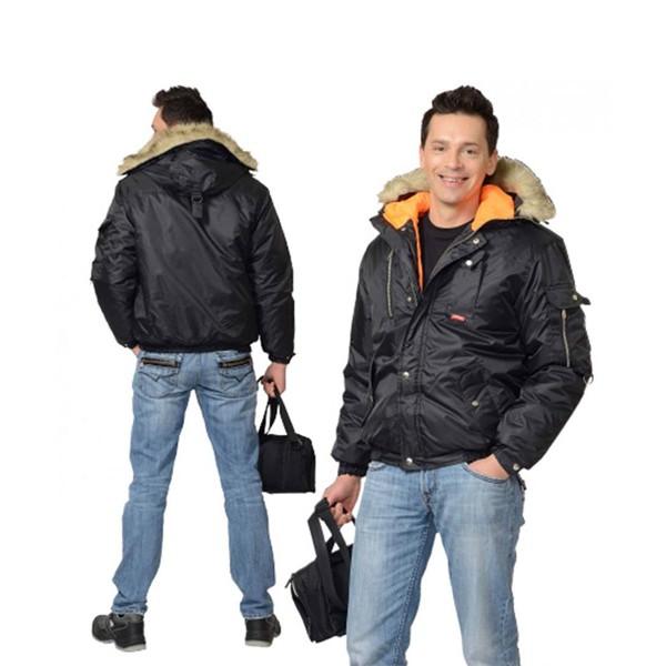 Куртка зимняя аляска укороченная
