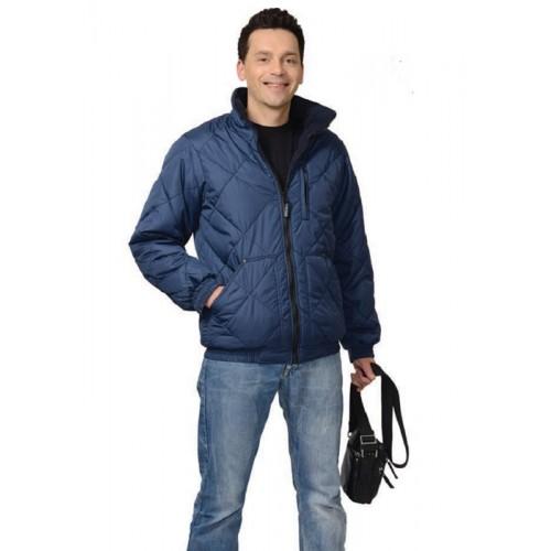 """Куртка """"ПРАГА"""" мужская, темно-синяя"""
