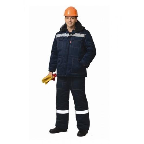 "Костюм ""ЛЕГИОНЕР-2"": куртка, п/комбинезон темно-синий с СОП"